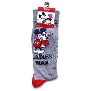 Disney Mickey Mouse Ladies Man Socks